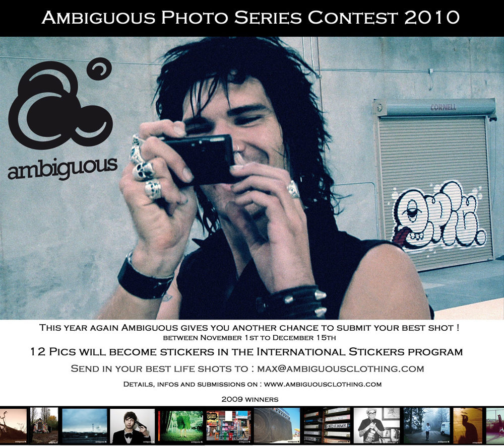 Ambiguous photo series contest