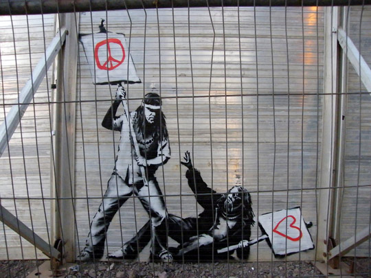 Banksy-at-Glastonbury-2010