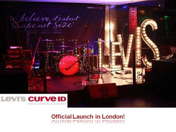 Levi's Curve ID Launch