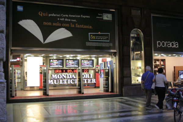 Mondadori Bookstore Milan