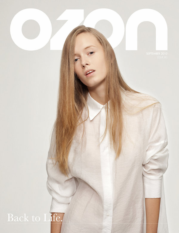 OZON 'Back to Life' Issue Cover September 2010