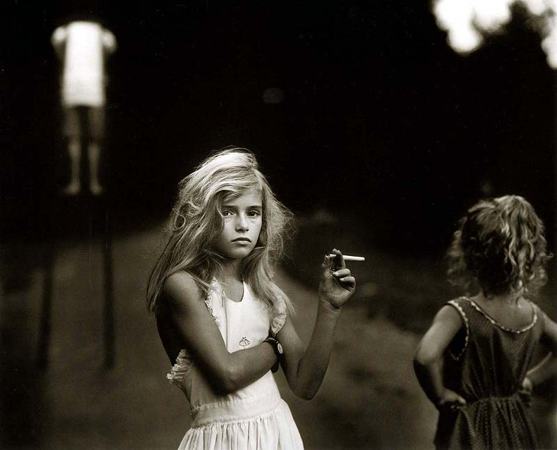 Sally Mann 'Candy Cigarette'