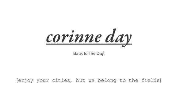 Corinne Day: Back to the Day