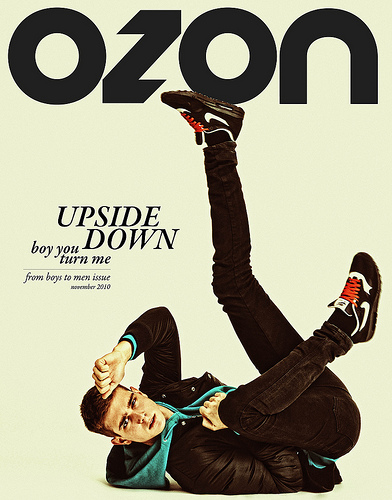 OZON November 2010 'Upside Down Boy You Tutn Me'