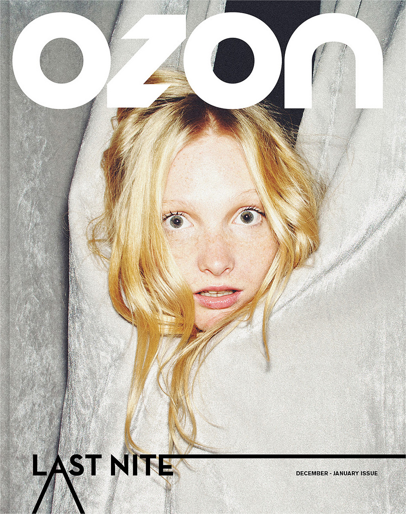 OZON 'Last Nite' December '10 / January 11 Issue Cover