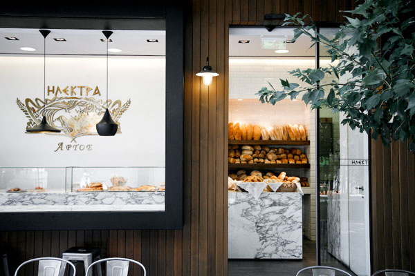 Studioprototype redefines the design of Electra bakery in Edessa