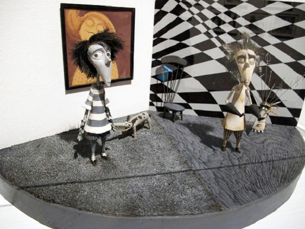 Tim Burton Exhibition At Lacma Museum