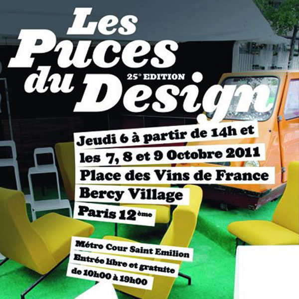 2011 paris events les puces du design place des vins. Black Bedroom Furniture Sets. Home Design Ideas