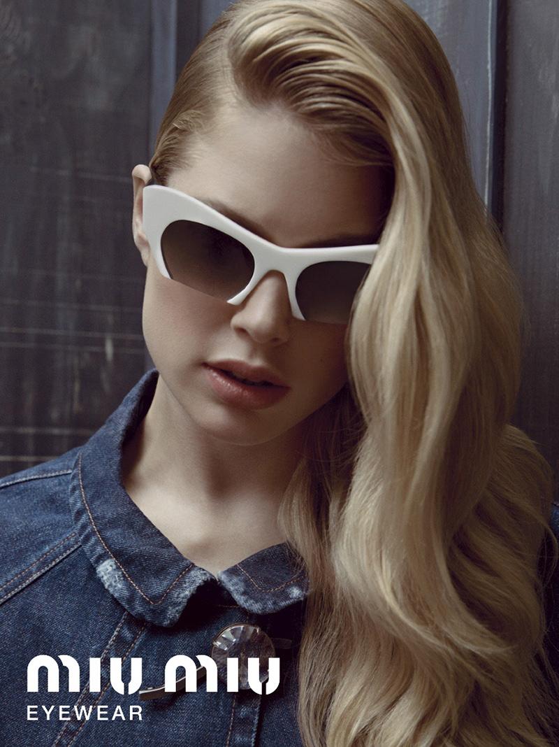 Miu Miu Rasoir Sunglasses ADV 01 Miu Miu Rasoir Eyewear SS13