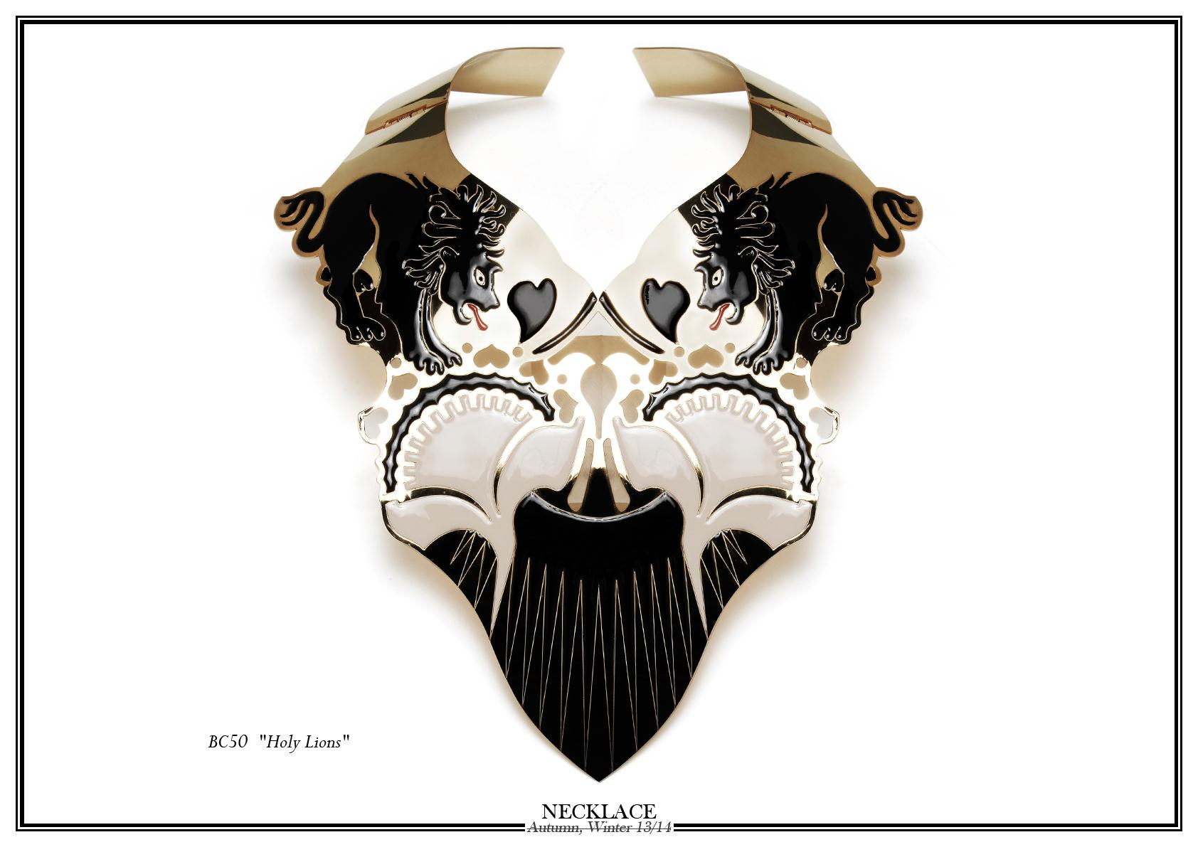 Nuit N°12 - AW13-14 Collection 'Holy Lions' Necklace
