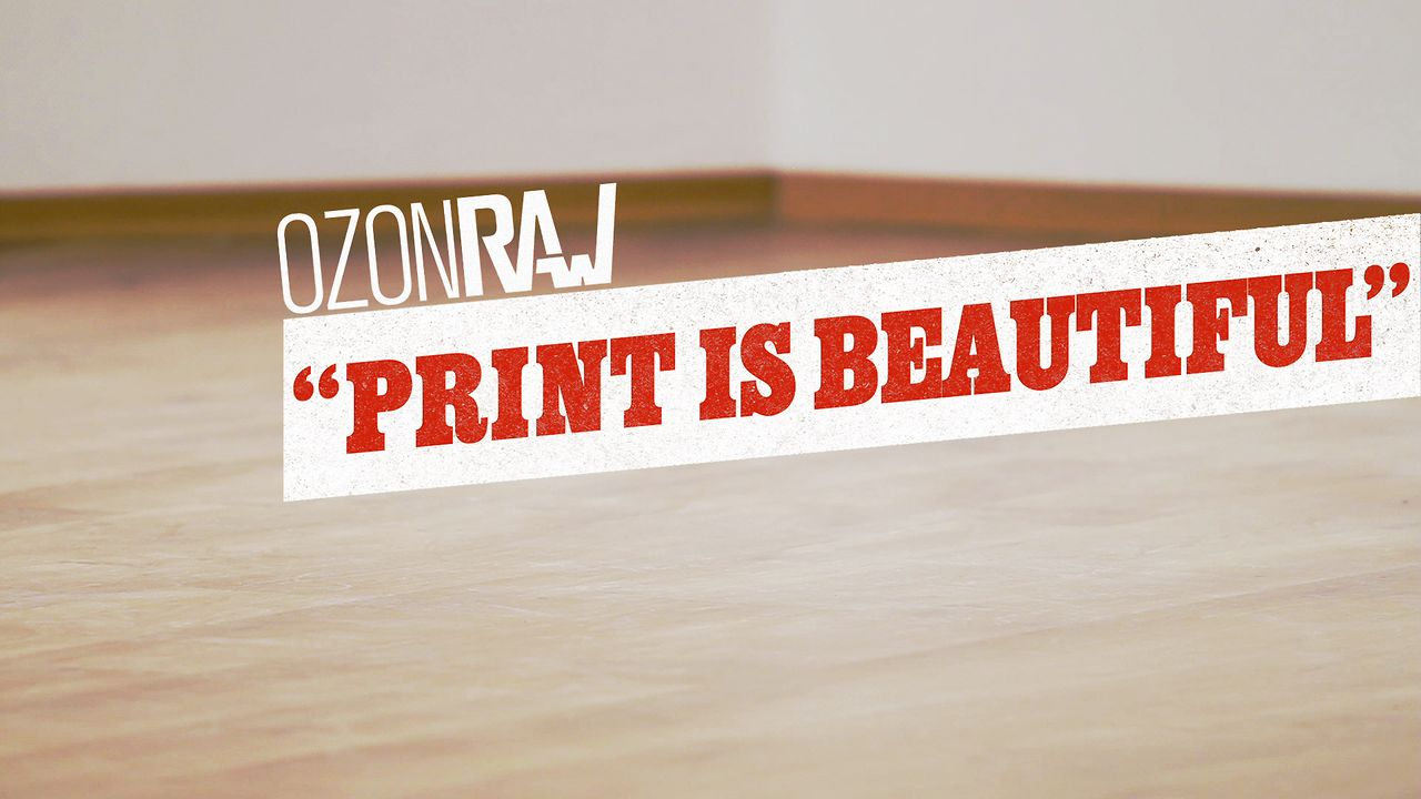 Print is beautiful: So are you! Check out our new video.