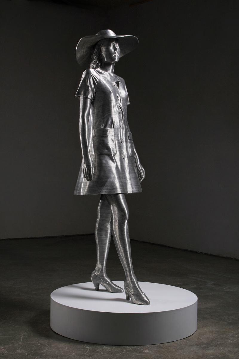 Aluminium Wire Sculptures By Seung Mo Park Ozonweb By