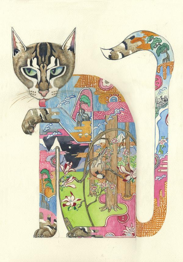 pussycat-print