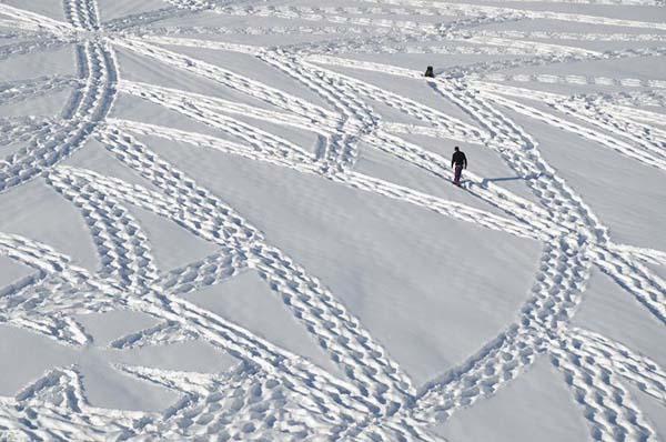 snow-art