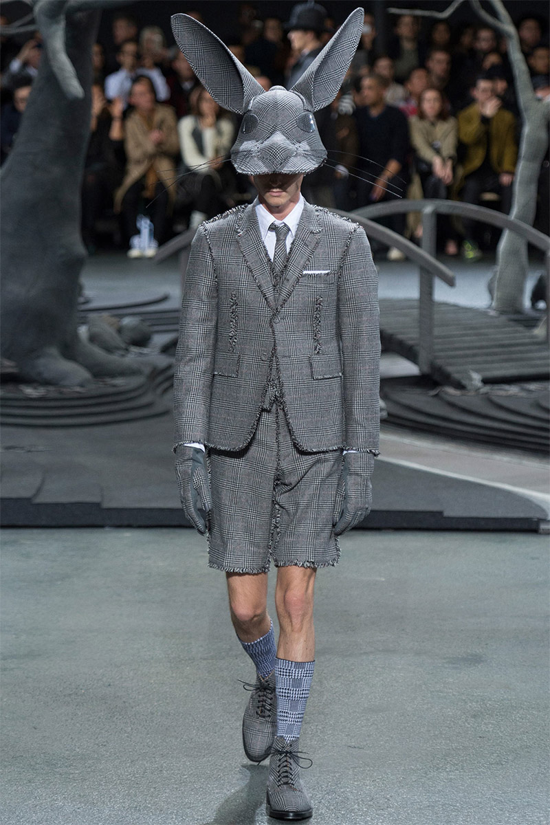 2014 Fall Winter 2015 Fashion Trends For Teensteens: Thom Browne Fall/Winter 2014 #PFW