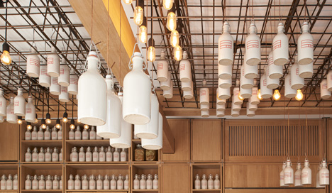Buero-Wagner-suspends-bottles-of-foraged-ingredients-from-ceiling-of-cocktail-bar_dezeen_50