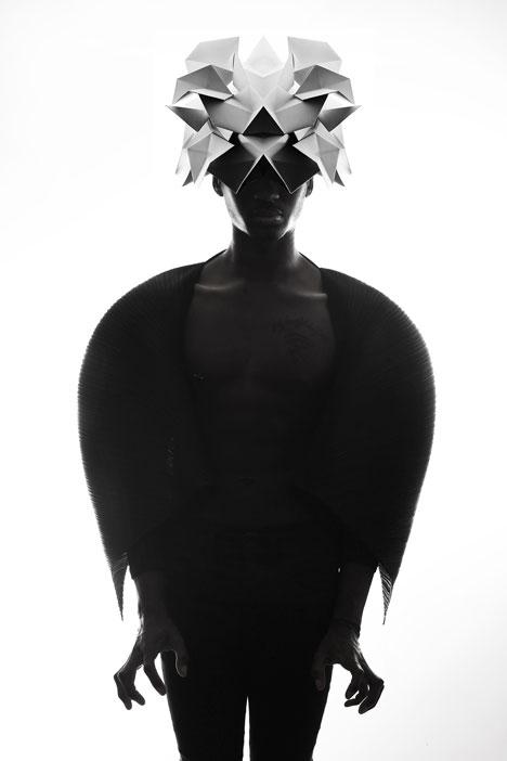 Origami-headgear-folded-to-resemble-mythological-creatures_dezeen_11