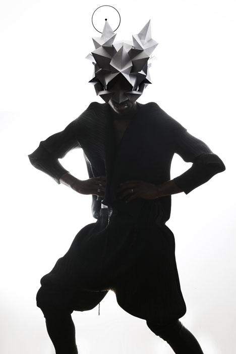 Origami-headgear-folded-to-resemble-mythological-creatures_dezeen_13