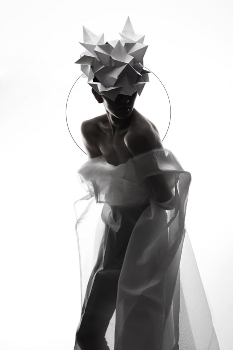Origami-headgear-folded-to-resemble-mythological-creatures_dezeen_14