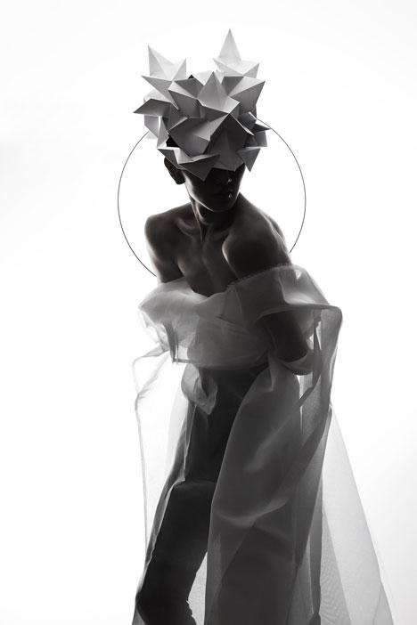 Origami-headgear-folded-to-resemble-mythological-creatures_dezeen_14