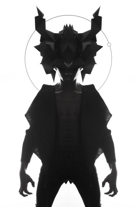 Origami-headgear-folded-to-resemble-mythological-creatures_dezeen_17