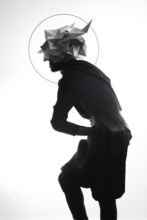 Origami-headgear-folded-to-resemble-mythological-creatures_dezeen_18