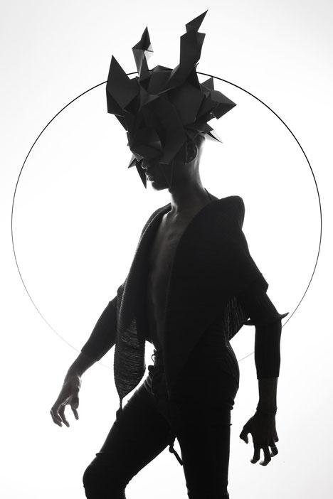 Origami-headgear-folded-to-resemble-mythological-creatures_dezeen_19