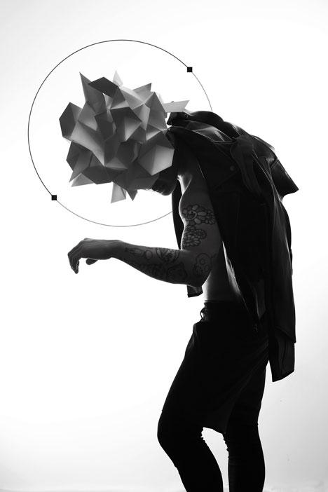 Origami-headgear-folded-to-resemble-mythological-creatures_dezeen_5