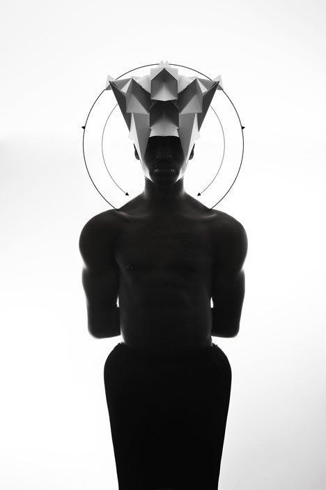 Origami-headgear-folded-to-resemble-mythological-creatures_dezeen_7
