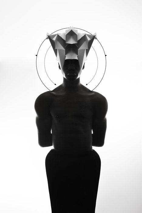 Origami-headgear-folded-to-resemble-mythological-creatures_dezeen_7