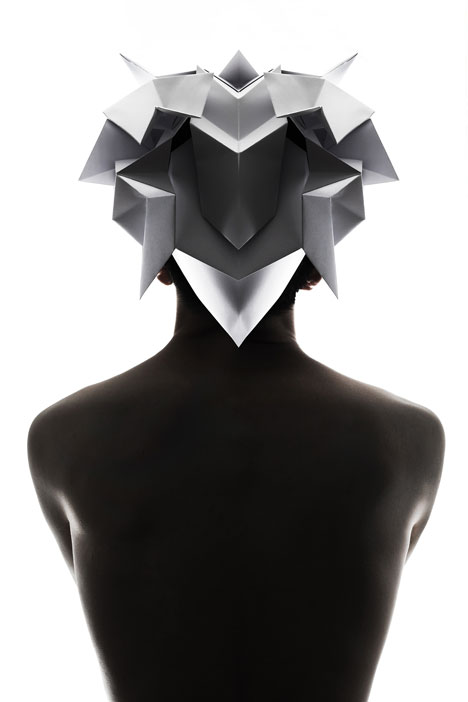 Origami-headgear-folded-to-resemble-mythological-creatures_dezeen_8