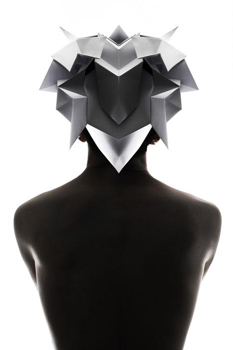 Origami-headgear-folded-to-resemble-mythological-creatures_dezeen_8