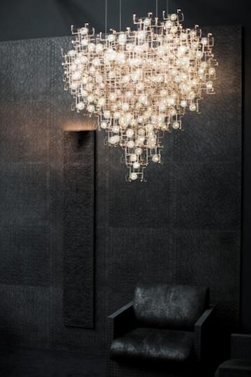 Dandelion Led Chandelier By Studio Drift Ozonweb By Ozon