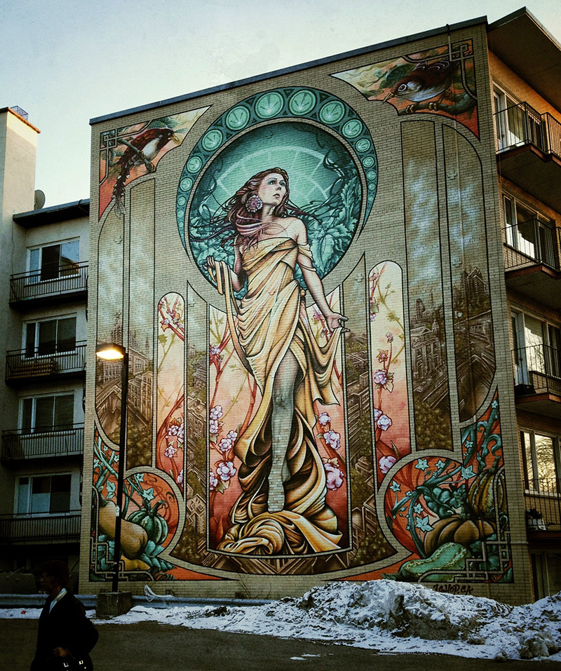 large scale murals by a shop crew ozonweb by ozon magazine