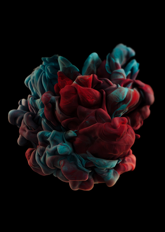 ink dropped into water on a black background by alberto seveso (8)