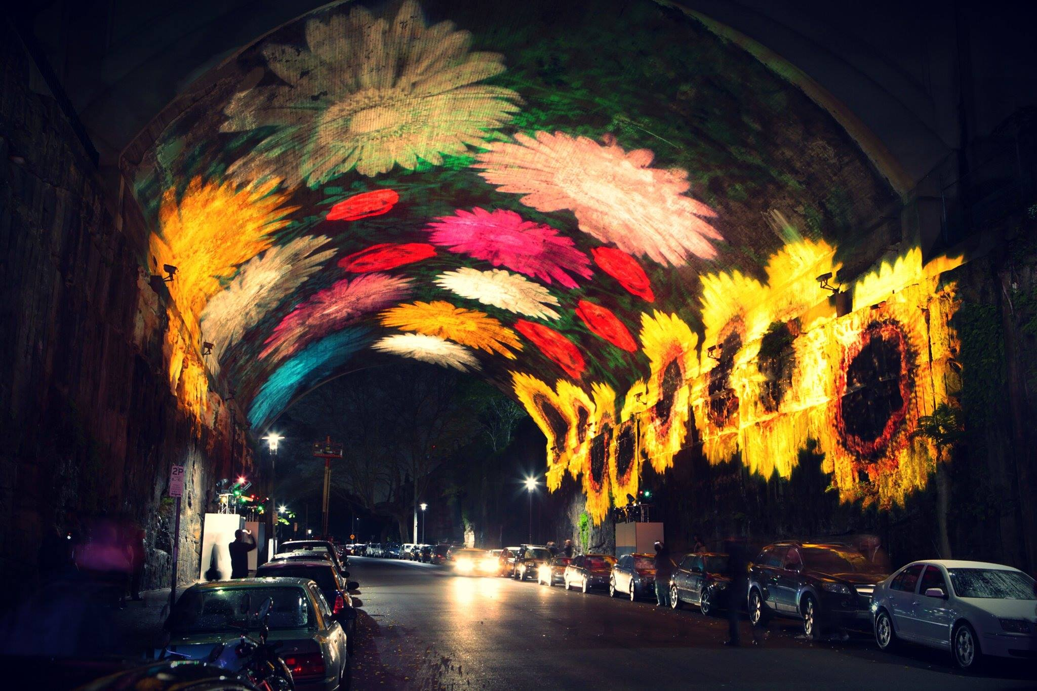 Downtown Sydney Transformed by Light for Vivid Sydney Sydney projection light exhibition