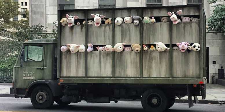 banksy-unleashes-a-creepy-slaughterhouse-delivery-truck-on-the-meatpacking-district