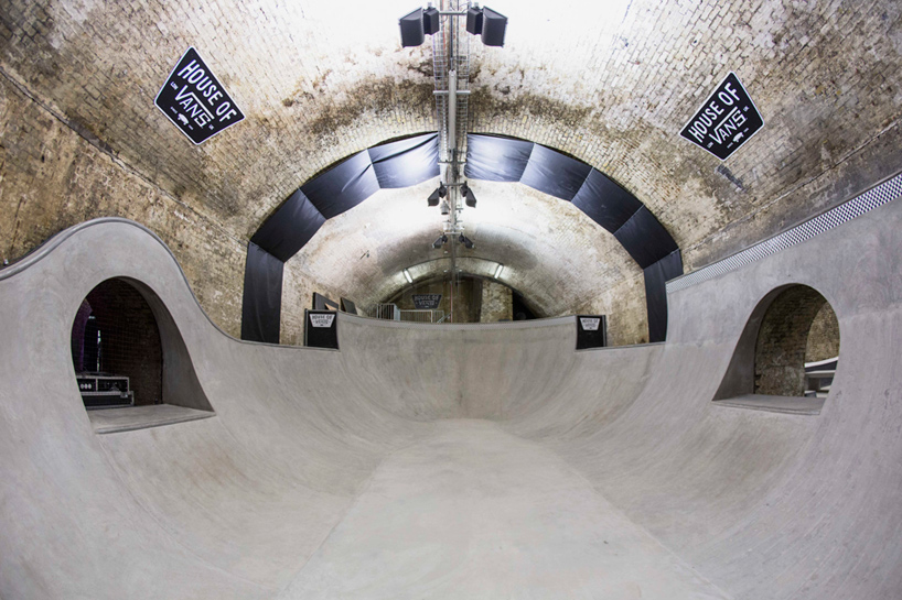 house of vans skatepark opens beneath london's waterloo station