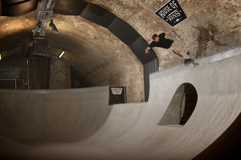 house of vans london indoor skatepark designboom