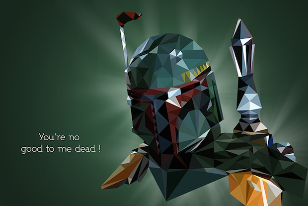 VladanFilipovic4 Geometic Artwork: The Star Wars Inspired Work Of Vladan Filipovic | First Look