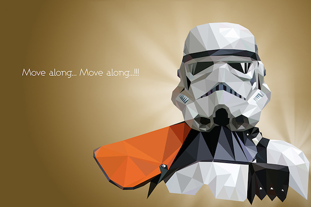 VladanFilipovic6 Geometic Artwork: The Star Wars Inspired Work Of Vladan Filipovic | First Look