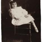 Frida Kahlo at age 5, 1912 iii