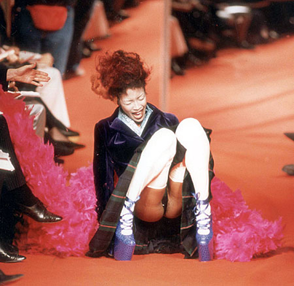 naomi campbell on vivienne westwood