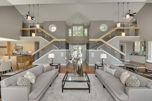 1443645364-elegant-living-room-design-ideas-with-grey-sofas-and-staircase-interior