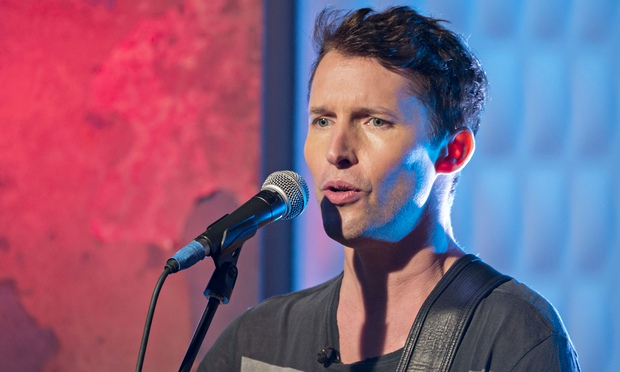 James Blunt said people laughed at the idea of him going into the music business
