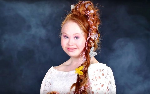 Madeline Stuart Transforms Into 6 Disney Princesses!