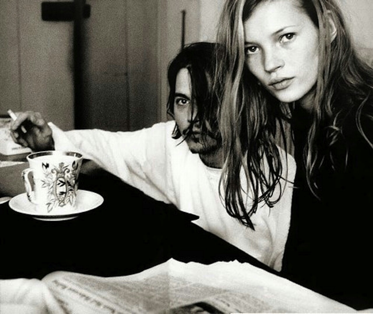 kate moss johnny depp photo